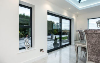 Aluminium window guides - Benefits of slimline windows for your property