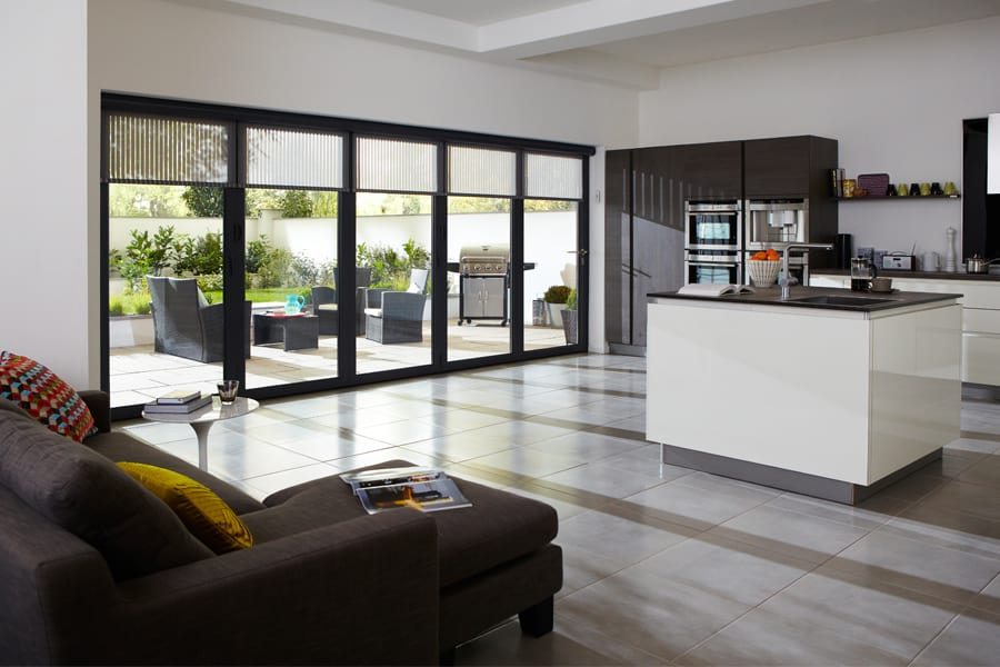 bifold door blinds 3 - Doors Kingswood